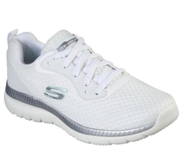 white skechers